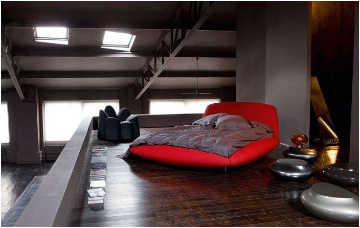 Декорация на спалня в класически цветове.