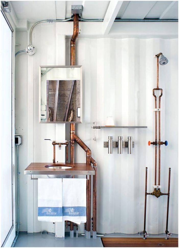 баня в стил таванско помещение