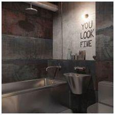 Лофт стил в банята-4