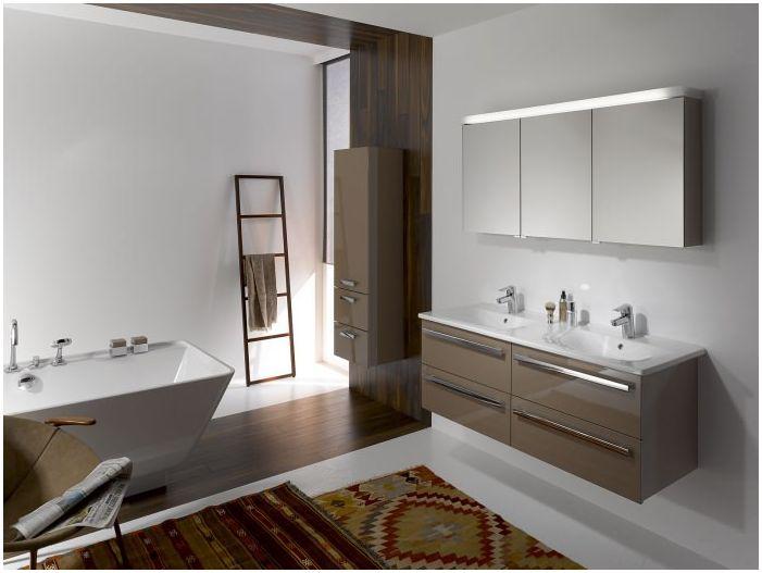 Łazienka w stylu minimalizmu