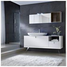 Стиль минимализм в ванной комнате: особенности, фото-3