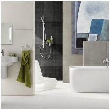 Стиль минимализм в ванной комнате: особенности, фото-4
