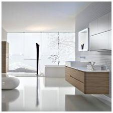 Стиль минимализм в ванной комнате: особенности, фото-7