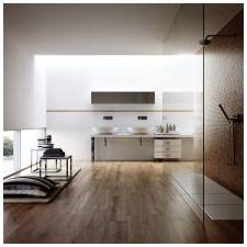 Стиль минимализм в ванной комнате: особенности, фото-9