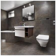 Стиль минимализм в ванной комнате: особенности, фото-5