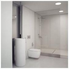 Стиль минимализм в ванной комнате: особенности, фото-10