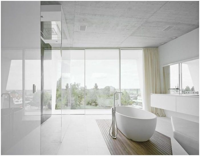 dekoracja łazienki w stylu minimalizmu