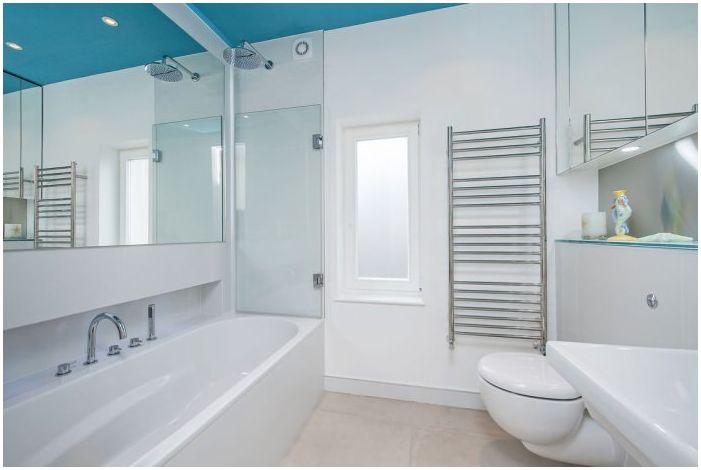 Стиль минимализм в ванной