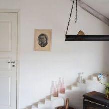 Styl prowansalski we wnętrzu domu w pobliżu Wyborga-20