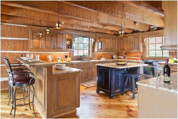 селски стил в интериора на кухнята