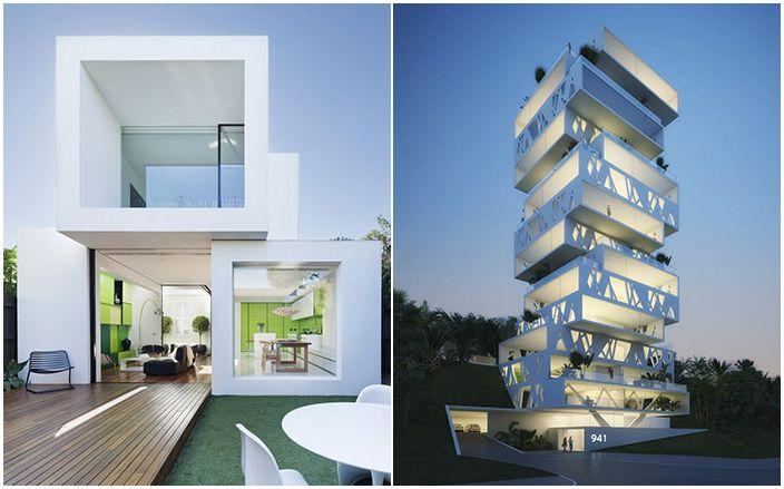 Странността и изкушенията на съвременната архитектура: 18 къщи за пъзели