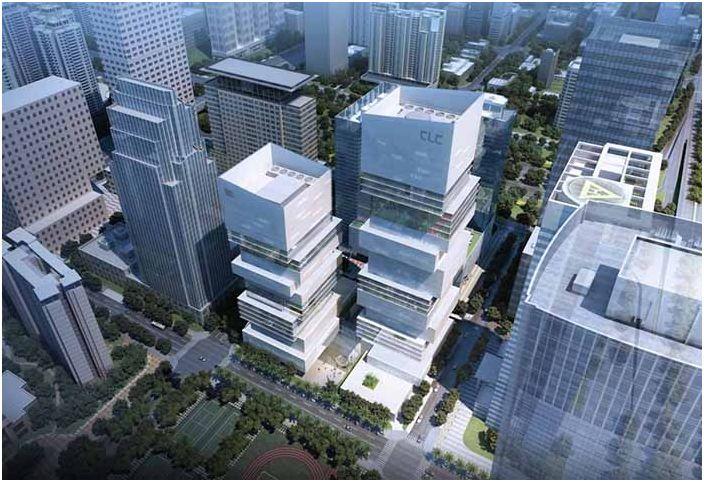 CDB & Minsheng на небостъргач