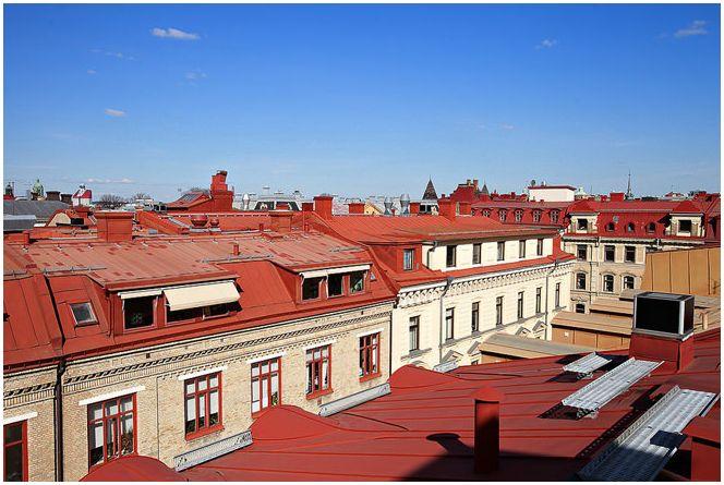 терраса на крыше