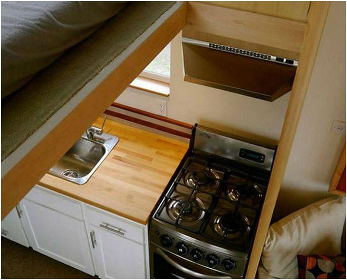 Мобилен дом с площ от 18,5 кв. м.