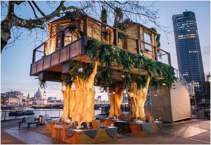 Истински африкански къщи насред градската джунгла