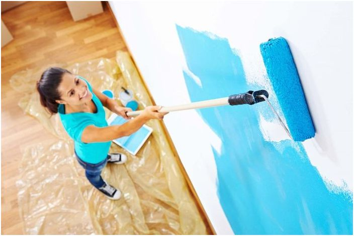 Правила за успешно боядисване на стени
