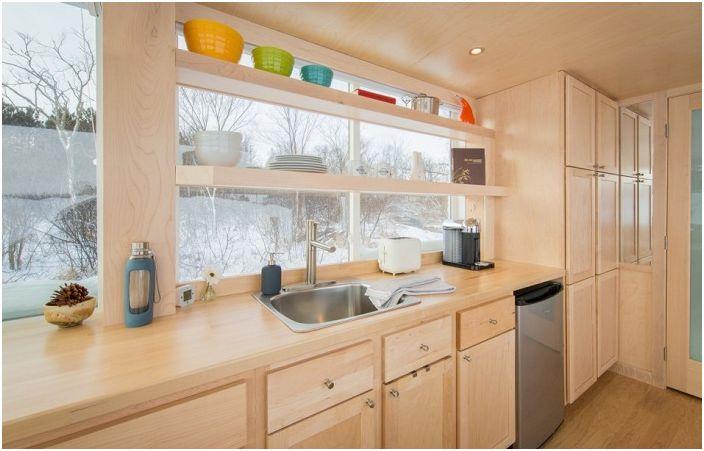 Мобилен дом Vista. Кухня.