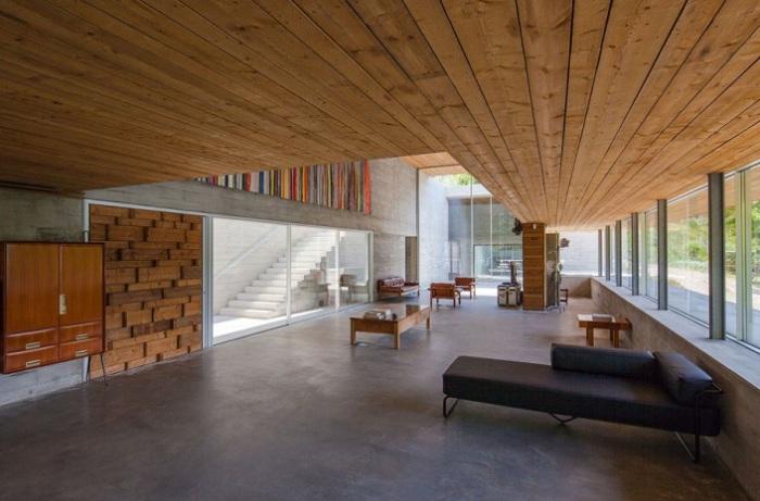 Gerеs House to rezydencja mieszkalna utrzymana w duchu minimalizmu.