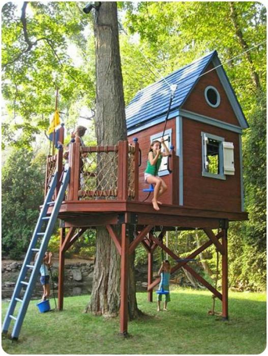 Къща на дърво.