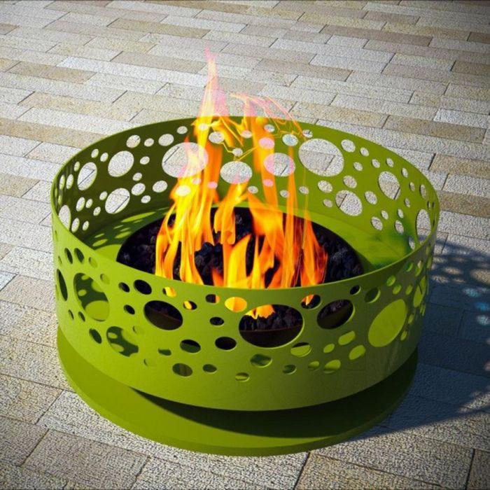 Чаша за огън на огъня.