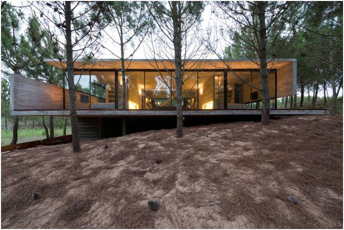 Архитектурен проект на Лучано Крук и Екатерина Кунзел.