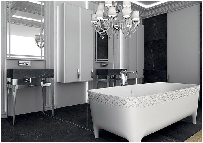 Стилен декор за баня