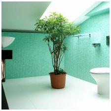 Ванная комната бирюзового цвета-2