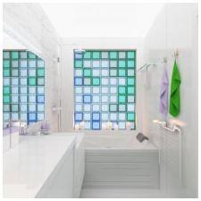 Ванная комната бирюзового цвета-7