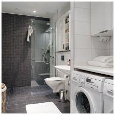 Ванная комната в скандинавском стиле-7