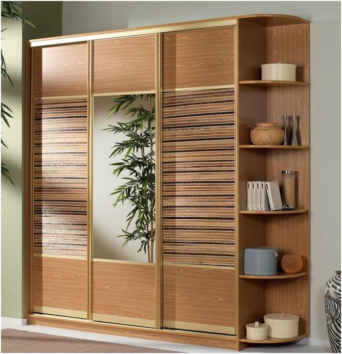 гардероб с вложки от бамбук