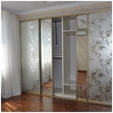 Опции за дизайн на входните врати на плъзгащия се гардероб-2