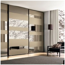 Опции за дизайн на фасадите на вратите на плъзгащия се гардероб-8