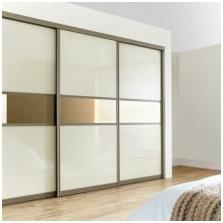 Опции за дизайн на фасадите на вратите на плъзгащия се гардероб-9