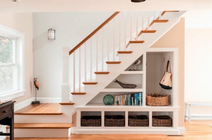 видове стълби в къщата: прави
