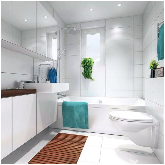 Комбиниране на баня и тоалетна