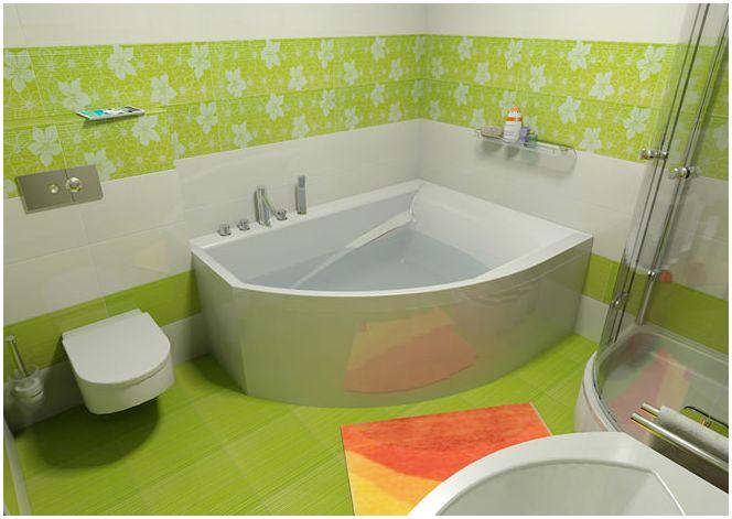 Снимка на дизайн за баня и тоалетна