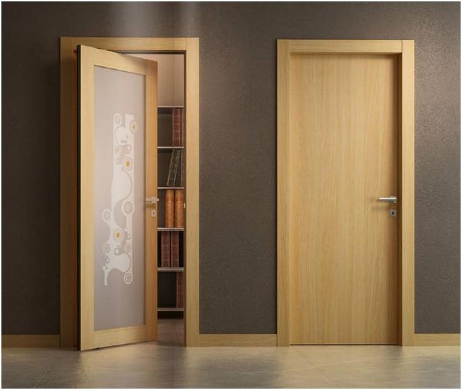 Материали за интериорни врати