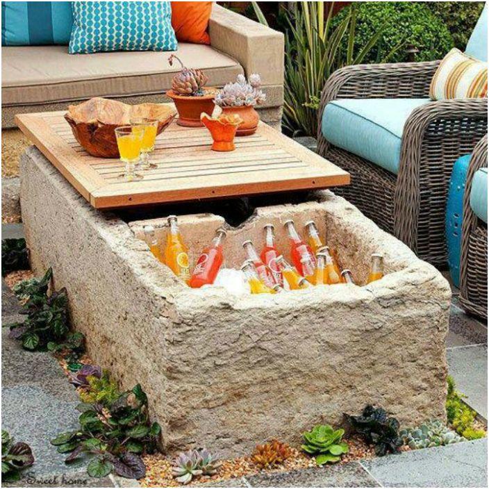 Хладилна маса.