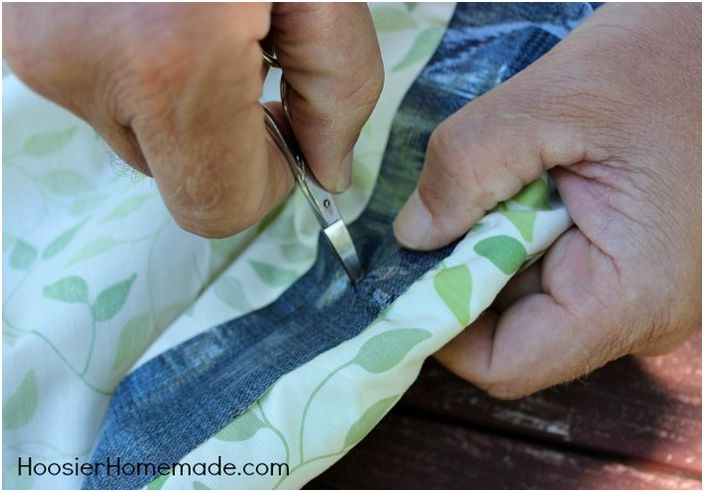 Най-лесният начин да направите балдахин със собствените си ръце. Без шиене