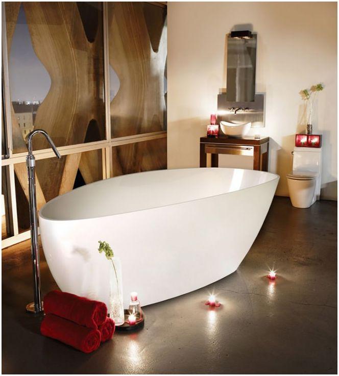 Как да изберем акрилна вана