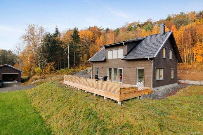 Скандинавска селска къща