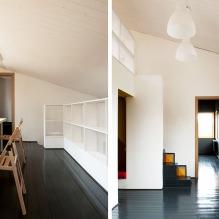 Загородный дом 100 кв. м. в стиле минимализм-32