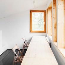 Загородный дом 100 кв. м. в стиле минимализм-33