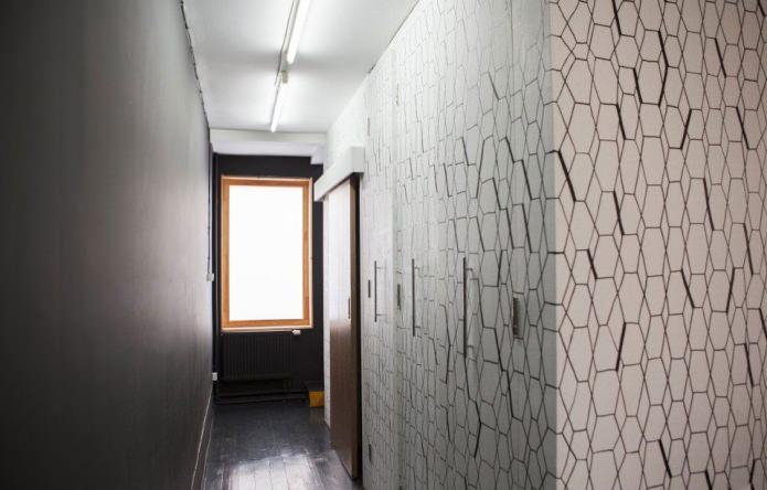 коридор в загородном доме 100 кв. м.