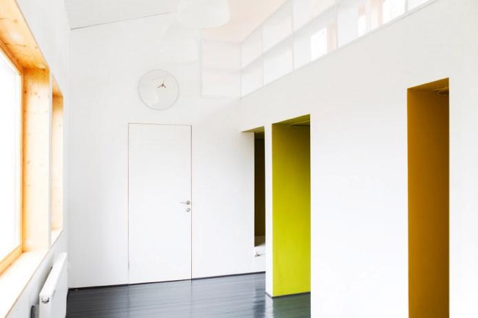 интеьер загородного дома в стиле минимализм