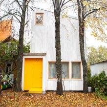 Загородный дом 100 кв. м. в стиле минимализм-1