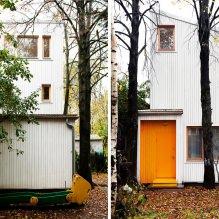 Загородный дом 100 кв. м. в стиле минимализм-4