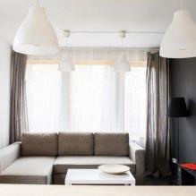 Загородный дом 100 кв. м. в стиле минимализм-5