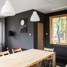Загородный дом 100 кв. м. в стиле минимализм-6