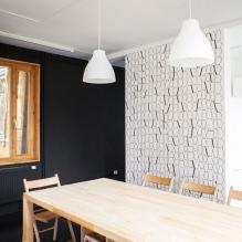 Загородный дом 100 кв. м. в стиле минимализм-10